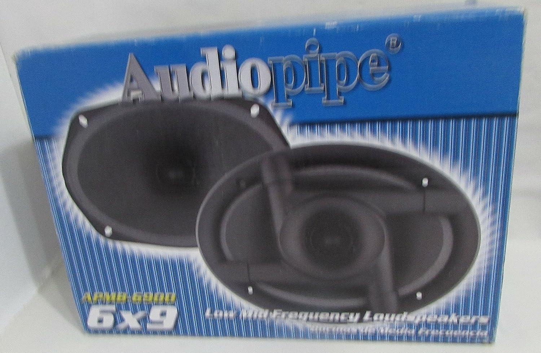 NEW AUDIOPIPE APMB6900 6x9 250W Low//Mid Frequency Loudspeakers Speakers 2
