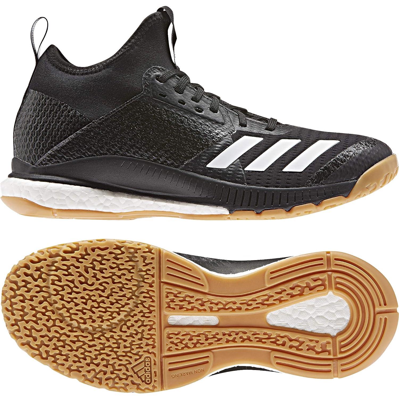 MultiCouleure (Negbás Ftw Bla Gumm1 000) 48 EU adidas Crazyflumière X 3 Mid, Chaussures de Volleyball Femme
