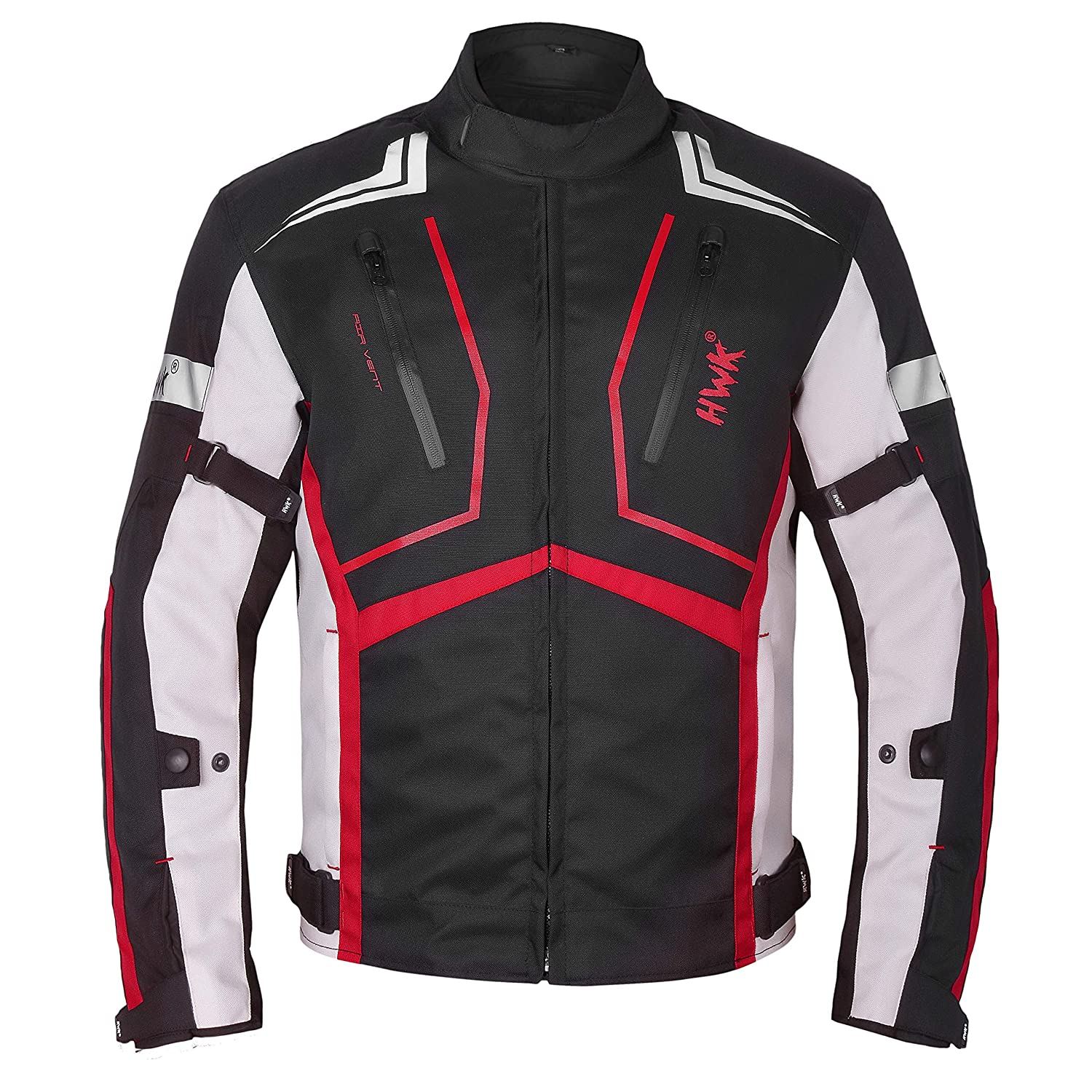 Hi-Vis Green, Small Motorcycle Jacket For Men Cordura Motorbike Racing Biker Riding Breathable CE Armored Waterproof All-Weather