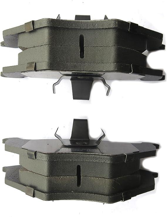 Disc Brake Pad Set-Meyle Semi Metallic Front fits 05-15 Nissan Frontier