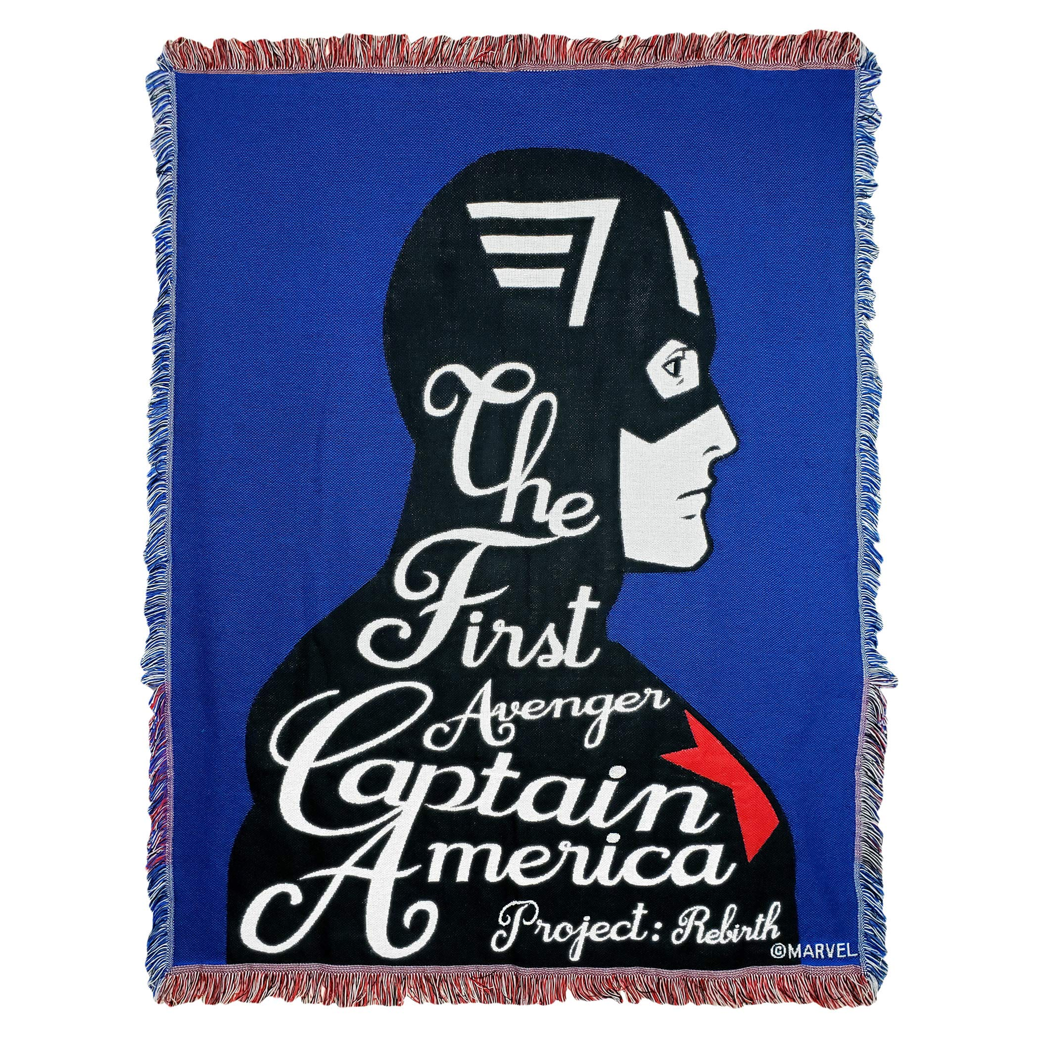 Marvel's Avengers Endgame, ''Project Rebirth'' Woven Jacquard Throw Blanket, 46'' x 60'', Multi Color