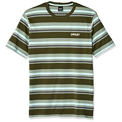 Oakley Mens Men's Bold Yd Stripe Tee at Men's Clothing store