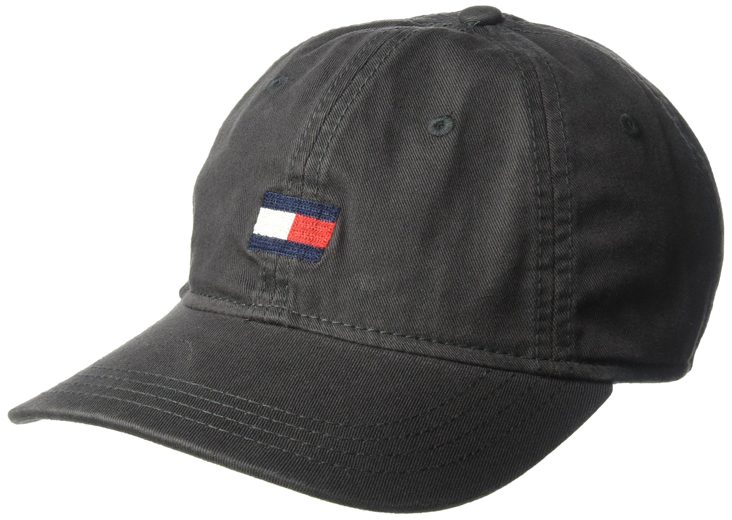 Tommy Hilfiger Men's Ardin Dad Baseball Cap, Charcoal, One Size