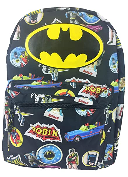 f1df2869d14b Image Unavailable. Image not available for. Color  Batman Comic 16 Standard  Size Backpack
