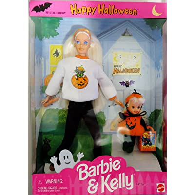 Barbie Happy Halloween KELLY Gift Set Special Edition (1996): Toys & Games