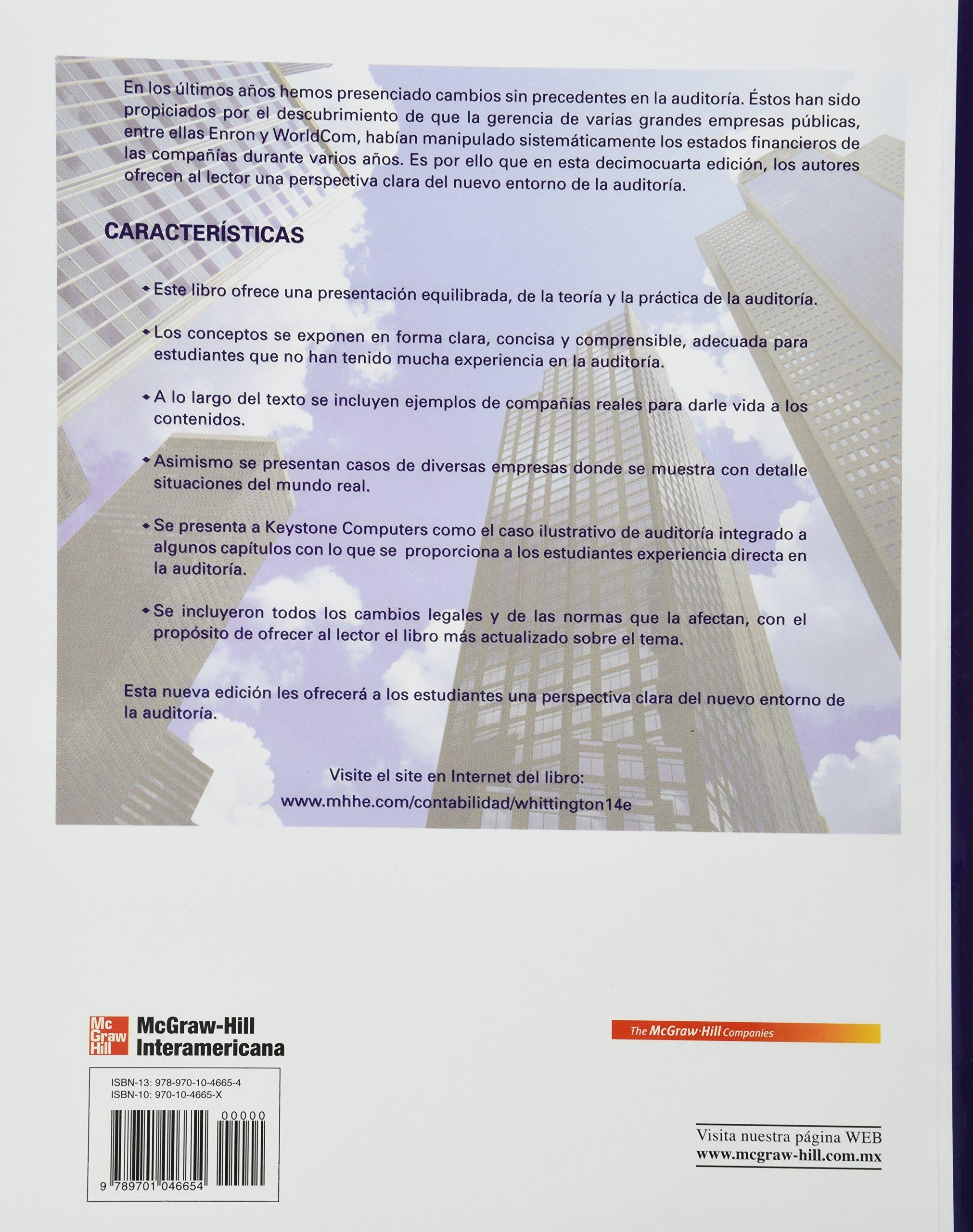 principios de auditoria whittington