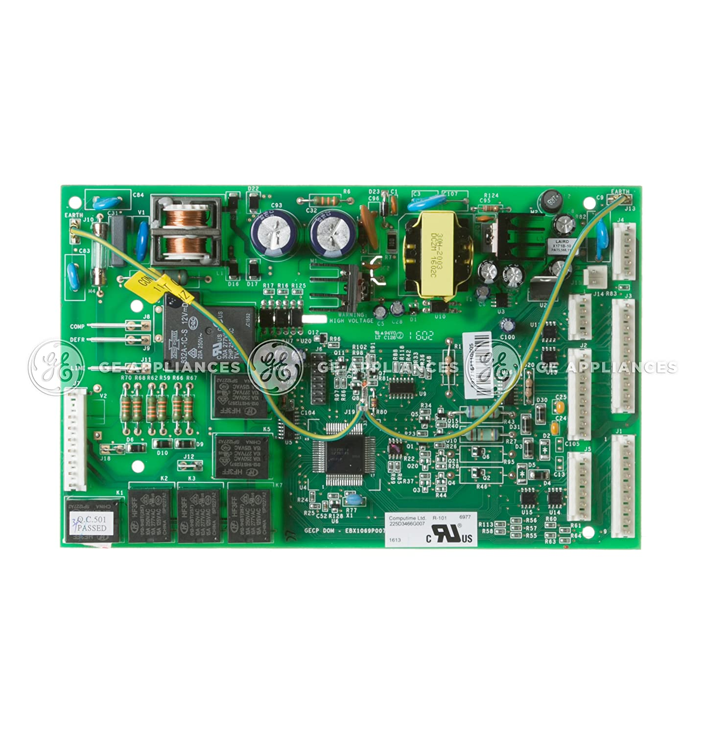 Ge WR55X11098 Refrigerator Electronic Control Board Genuine Original Equipment Manufacturer (OEM) Part