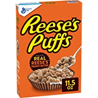 Reese's Peanut Butter Puffs, Breakfast Cereal, 11.5 Ounce