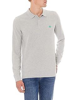 United Colors of Benetton Camiseta de manga larga para Hombre ...
