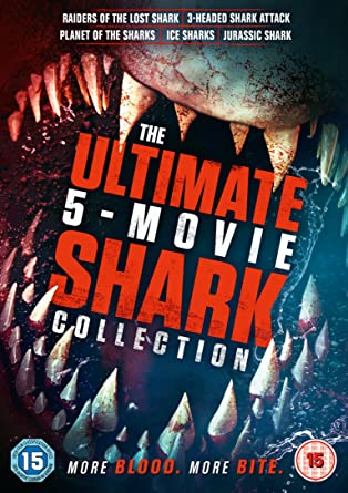 Ultimate 5 Movie Shark Collection Dvd