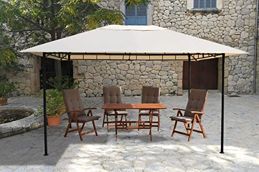 GRASEKAMP Qualität seit 1972 Amalfi Flex - Cenador de 3 x 4 m ...