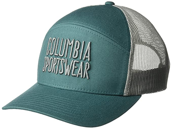 Columbia Mens Trail Evolution Snap Back Hat, Poseidon, Script, O ...