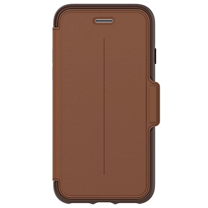 new styles a5aee 281bd Amazon.com: OtterBox STRADA SERIES Case for iPhone 8 & iPhone 7 (NOT ...