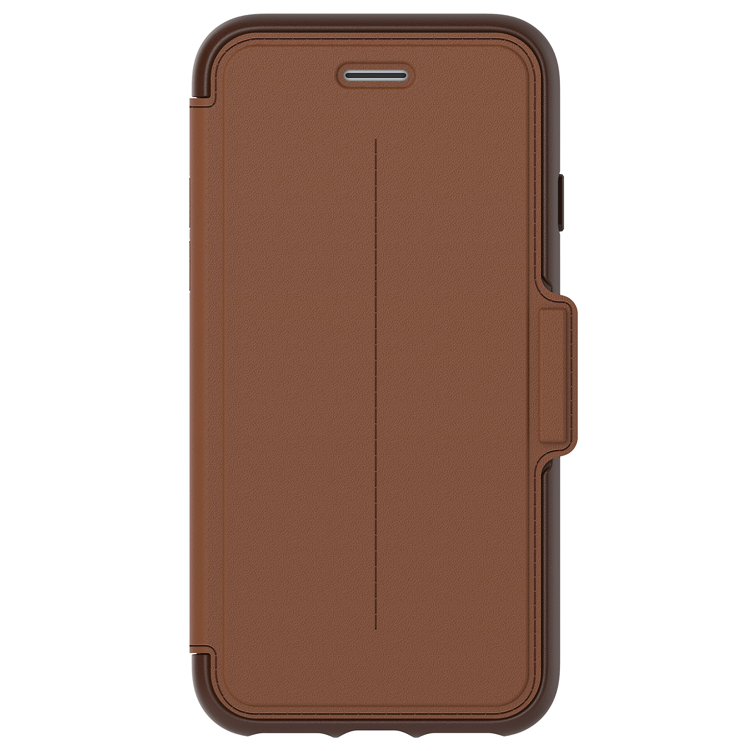 OtterBox 77-53973 STRADA SERIES Case for iPhone 8 & iPhone 7 (NOT Plus) - BURNT SADDLE (BURNT SADDLE/CHAPSHAIR LEATHER)