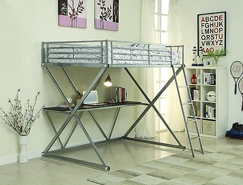 Coaster Full Workstation Loft Bed