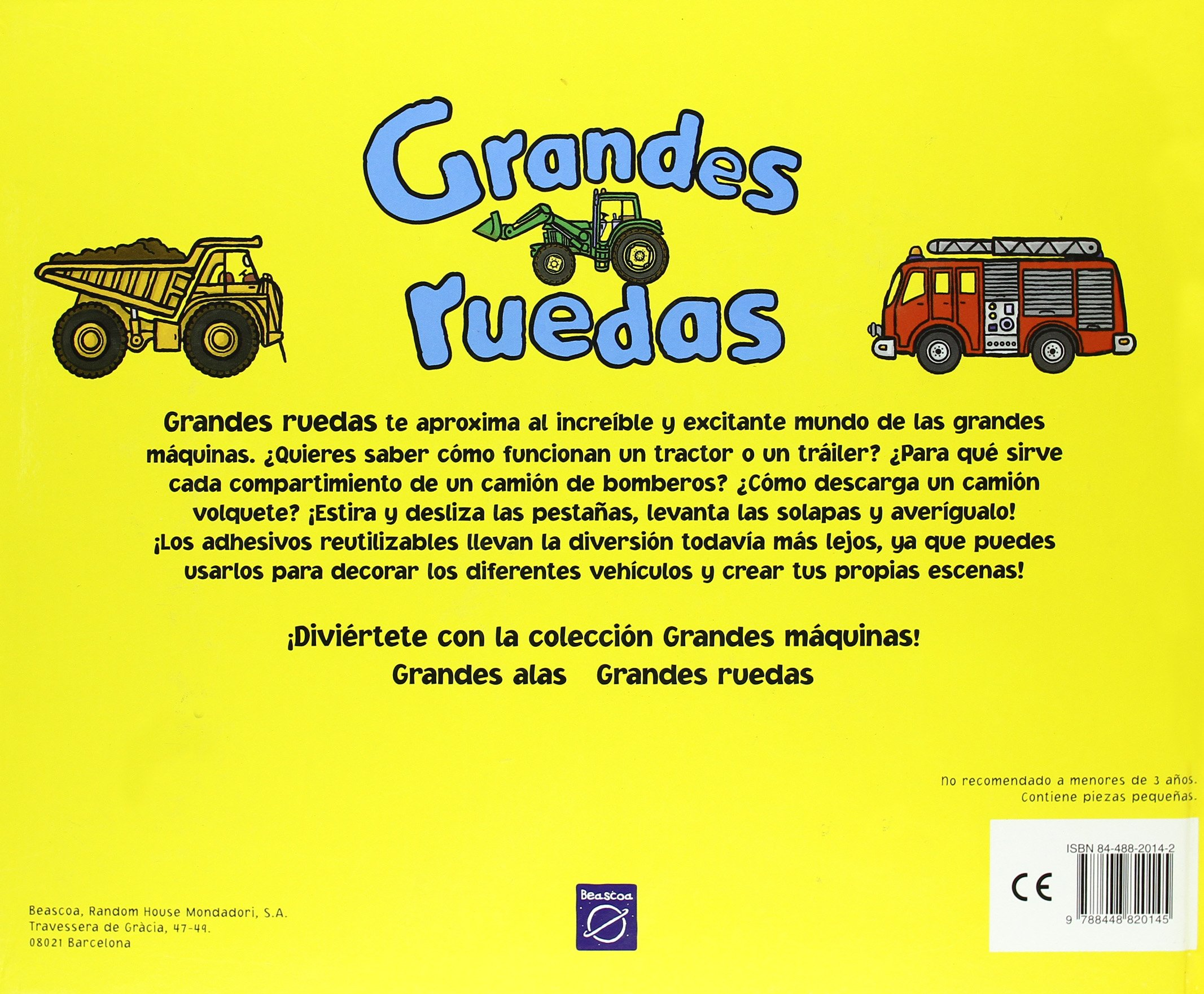 Grandes Ruedas (Spanish Edition): Ward Beck: 9788448820145: Amazon.com: Books