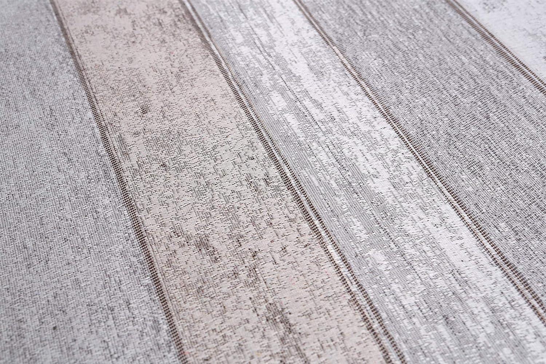 Beautex Jacquard Stoff Tischdecke mit Lotus Effekt abwischbar, Motiv und und und Größe wählbar, oval 140 x 260 cm, Linado Silbergrau B07J2NLCPQ Tischdecken 144f8b
