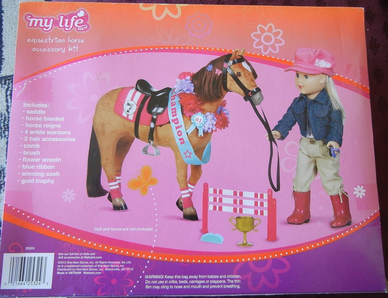 My Life as Equestrian Horse Accessory Kit by Walmart: Amazon.es: Juguetes y juegos