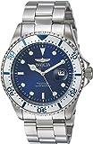 Invicta Men's 'Pro Diver' Quartz Stainless Steel Diving Watch, Color:Silver-Toned (Model: 23399)