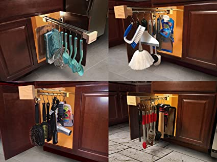 Amazon Com Crystal L D Multi Use Pull Out Cabinet Organizer