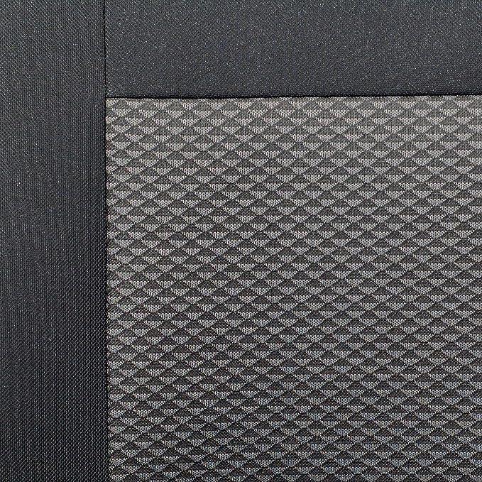 CABSTAR Fundas de asiento - 1 set - Producto Premium Negro ...