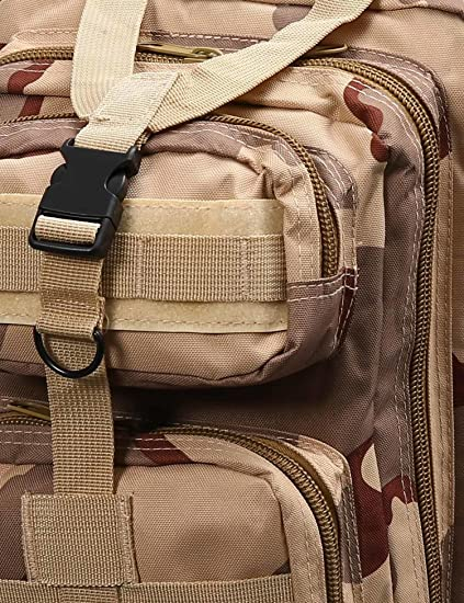 Skylin 25L Outdoor Marching Tactical Backpack Camouflage