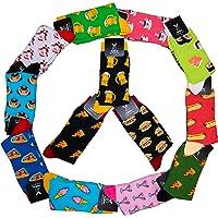 TwoSocks calcetines divertidos para hombre y para mujer medias divertidas como regalo, algodón, talla única
