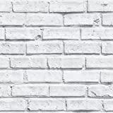 White Brick Wallpaper - Arthouse