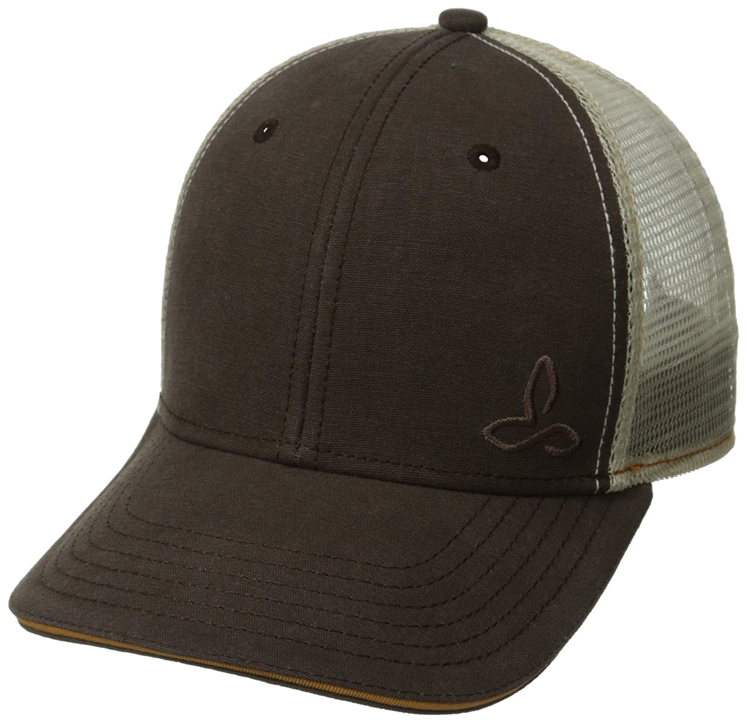 Prana Living Men's Karma Trucker Hat, One Size, Brown U5KARM314
