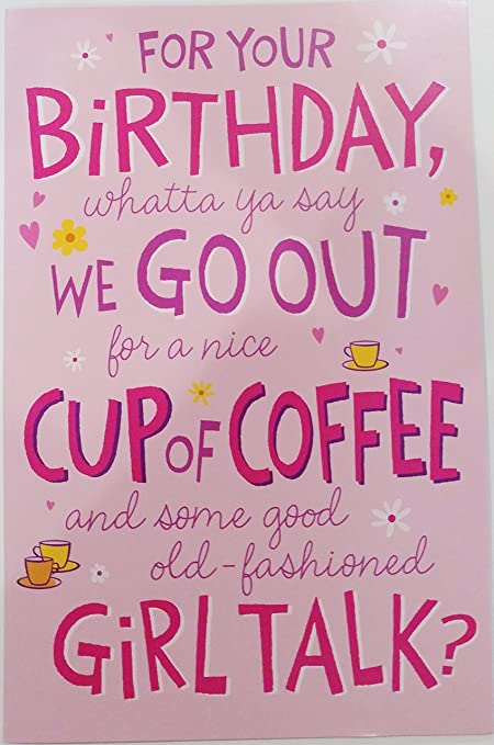 Amazon Happy Birthday For Her Woman Greeting Card