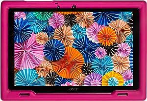 BobjGear Bobj Rugged Tablet Case for Acer Iconia B3-A50 Kid Friendly (Rockin' Raspberry)