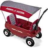 Radio Flyer Build-A-Wagon Plastic - Air Tires, Canopy, Seat Pads, Luxe Fashion