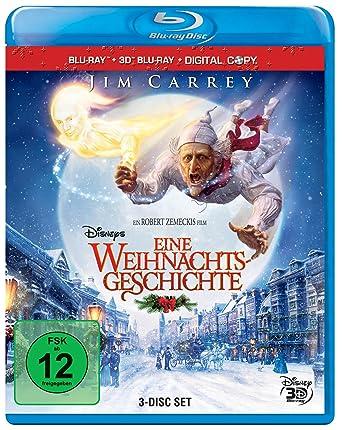 Disneys Eine Weihnachtsgeschichte 3d Blu Ray Digital Copy Blu