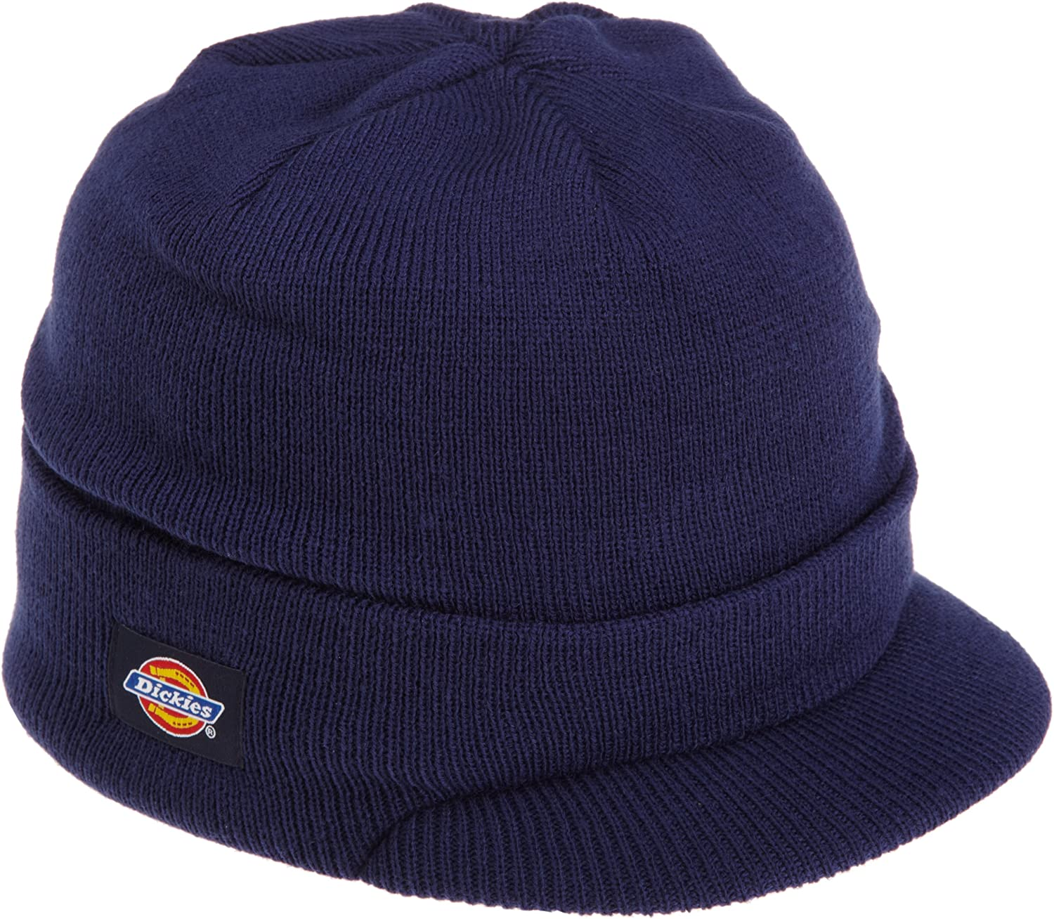Dickies Core 874 Navy Billed Knit Beanie with Visor: Amazon.es ...