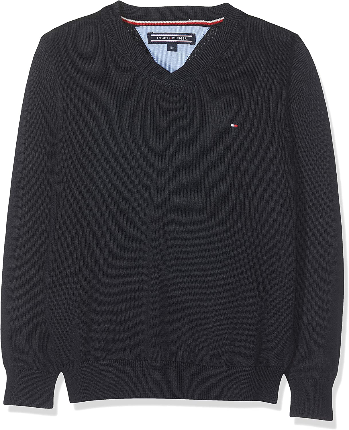 Tommy Hilfiger Boys Basic V-Neck Sweater Jumper