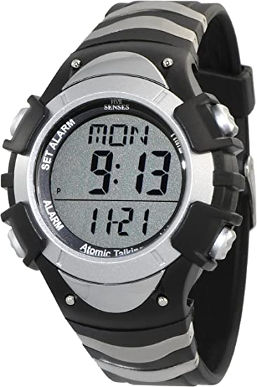 Atomic. Digital Talking -5 sentidos Unisex Atomic reloj reloj parlante (1269)