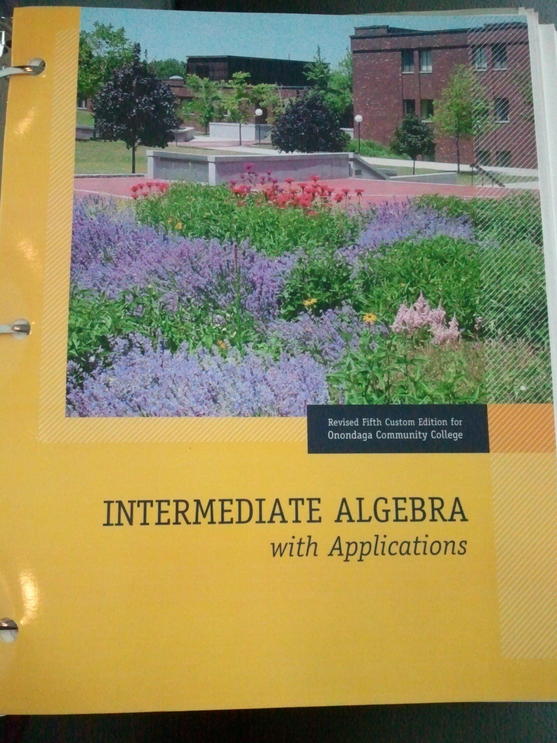 Download Intermediate Algebra with Applications Custom Fifth Edition pdf epub