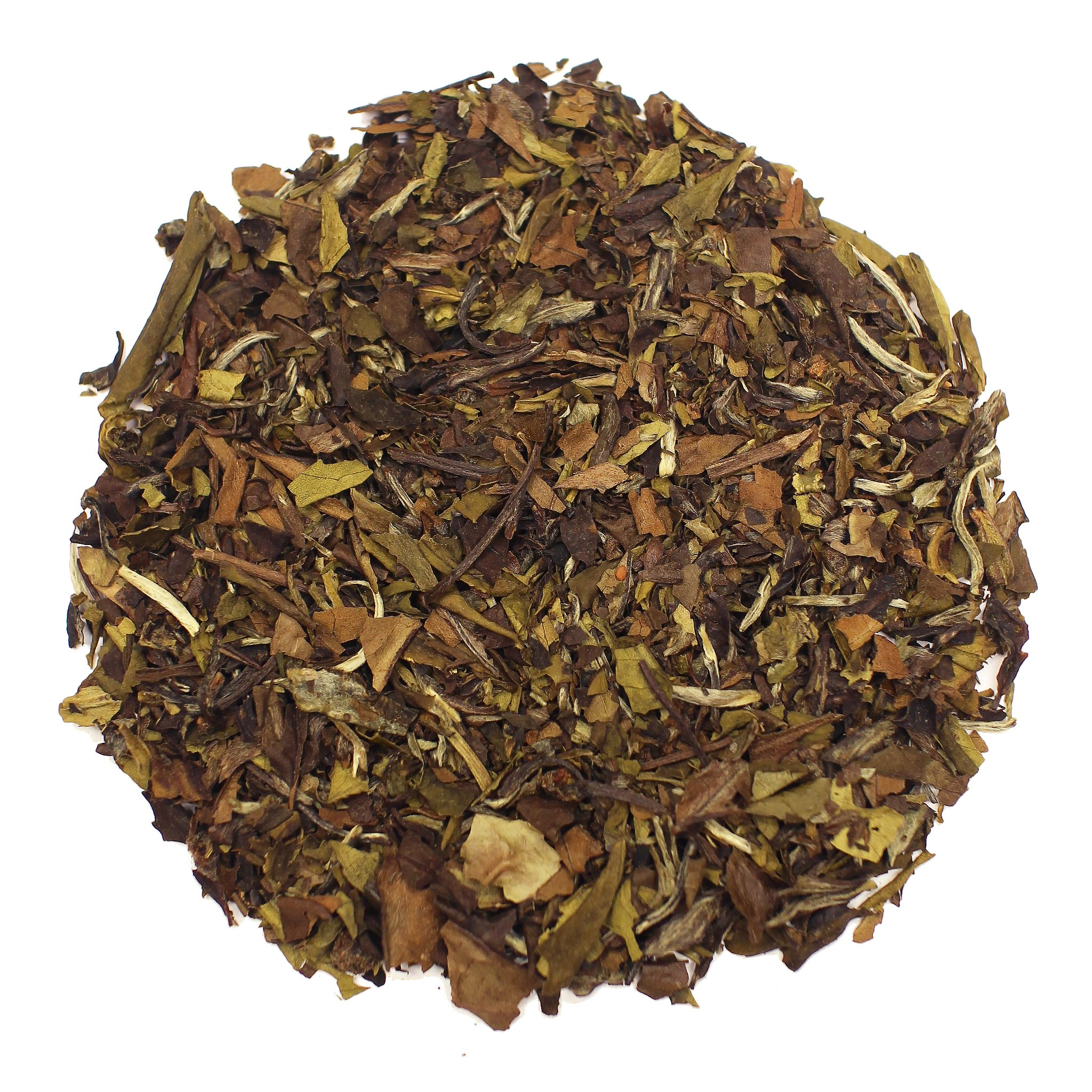 The Tea Farm - Blueberry White Fruit Tea - Loose Leaf White Tea (8 Ounce Bag) by The Tea Farm