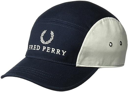 Amazon.com  Fred Perry Men s 5 Panel BSBL Cap 0e34cd3c799