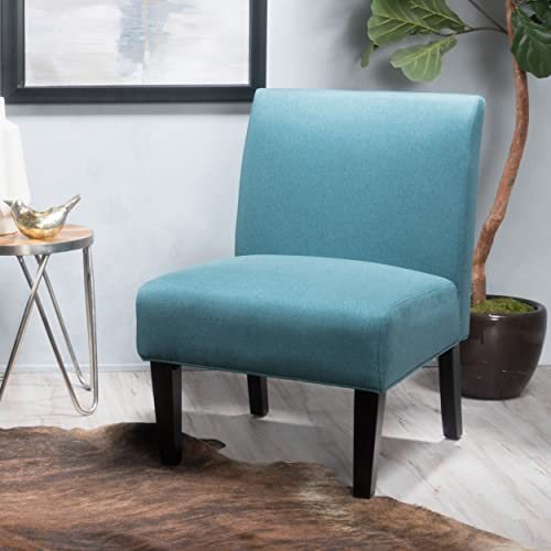 Christopher Knight Home Kendal Dark Teal Fabric Accent Chair, 29. 50 D x 22. 50 W x 32. 00 H