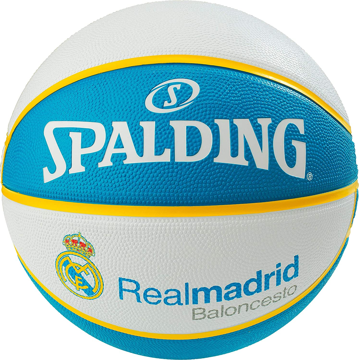 Spalding EL Team Real Madrid SZ.7 (83-787Z) Basketballs, Juventud ...