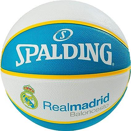 Spalding EL Team Real Madrid SZ.7 (83-787Z) Basketballs, Juventud ...