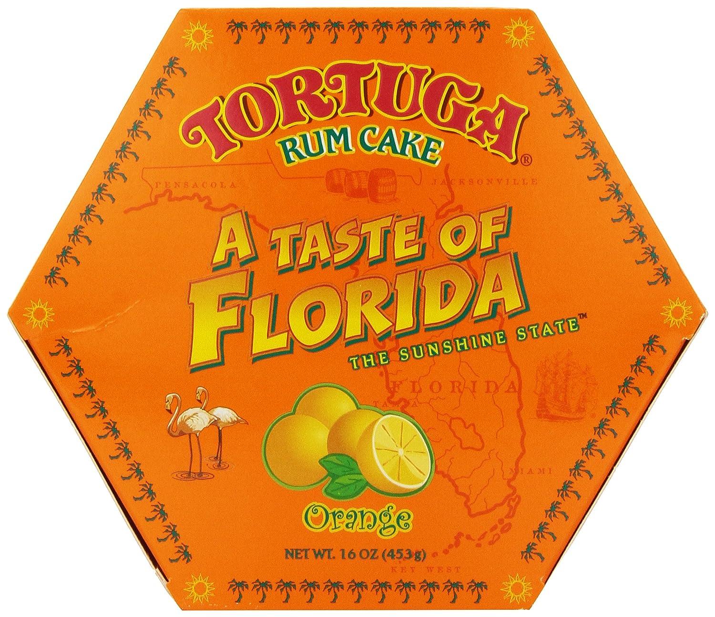 tortuga u0027a taste of florida u0027 orange rum cake 16 ounce box amazon