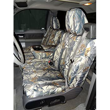 CarsCover Custom Fit 2004-2008 Ford F150 Pickup Truck Neoprene Car Front Seat Covers Gray /& Black Sides Driver /& Passenger Cover