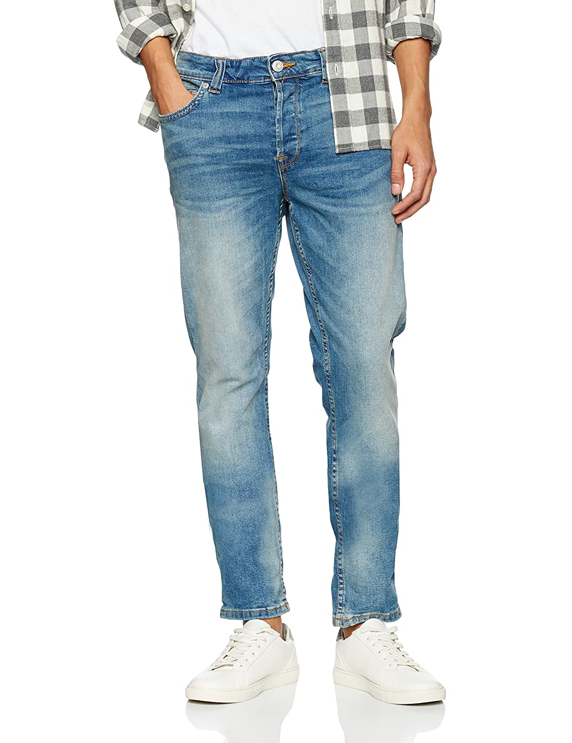 TALLA 28W / 30L. ONLY & SONS Onsloom Light Blue 5078 Pa Noos, Jeans Hombre