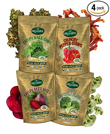 Earthy Organific - Bocadillos deshidratados para vegetales ...
