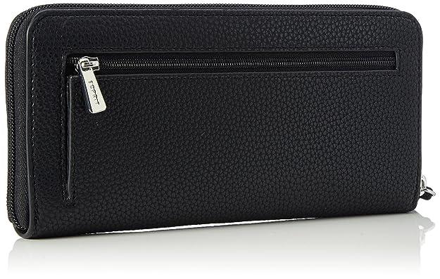 107ea1v036, Womens Wallet, Schwarz (Black), 1x9.5x19.600000000000001 cm (B x H T) EDC by Esprit
