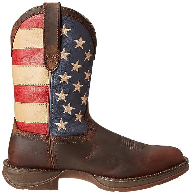 Durango botas de Rebel Western para hombre, Marrón, 9 2E US: Amazon.es: Zapatos y complementos