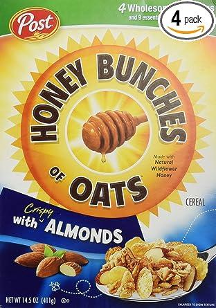 Manojos de miel de avena con almendras: Amazon.com: Grocery ...