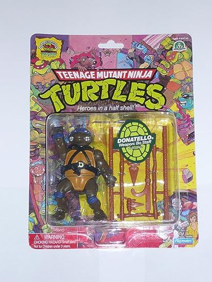 PlayMates Teenage Mutant Ninja Turtles 25th Anniversary Action Figure Donatello